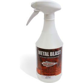 rust bullet metal blast metal cleaner, conditioner and etcher 24 oz. spray can 20/case mb24sp-c20 Rust Bullet Metal Blast Metal Cleaner, Conditioner and Etcher 24 oz. Spray Can 20/Case MB24SP-C20
