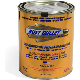 rust bullet industrial formula rust inhibitive coating pint can 40/case rb12-c40 Rust Bullet Industrial Formula Rust Inhibitive Coating Pint Can 40/Case RB12-C40