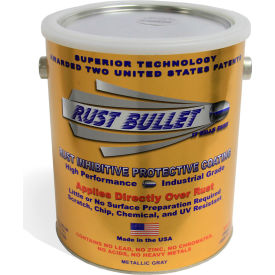 rust bullet industrial formula rust inhibitive coating gallon can 4/case rb14-c4 Rust Bullet Industrial Formula Rust Inhibitive Coating Gallon Can 4/Case RB14-C4