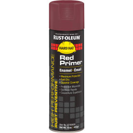 V2169838 Rust-Oleum High Performance V2100 Rust Preventive Enamel Aerosol, Red Primer, 15 oz. - V2169838