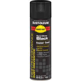 V2177838 Rust-Oleum High Performance V2100 Rust Prevent Enamel Aerosol, Semi-Gloss Black, 15 oz.- V2177838