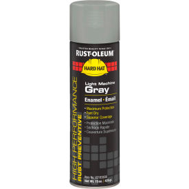 V2183838 Rust-Oleum High Performance V2100 Rust Prevent Enamel Aerosol, Light Machine GY 20 oz Can - V2183838