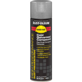 V2185838 Rust-Oleum High Performance V2100 System Galvanizing Compound Aerosol, Cold 20 oz. Can - V2185838