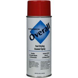 V2407830 Rust-Oleum Red Overall Economical Enamel Aerosol, 10 oz. - V2407830