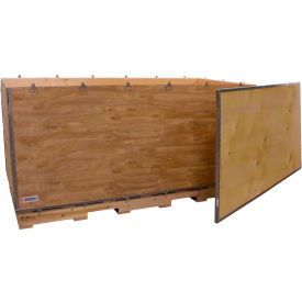"global industrial™ 6-panel shipping crate with lid & pallet, 72"" x 36"" x 36"" o.d. Global Industrial™ 6-Panel Shipping Crate with Lid & Pallet, 72"" x 36"" x 36"" O.D."