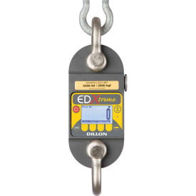 dillon edx-2t - edxtreme dynamometer with backlight & shackles, 5,000 lb x 5/1 lb Dillon EDX-2T - EDXtreme Dynamometer with Backlight & Shackles, 5,000 lb x 5/1 lb