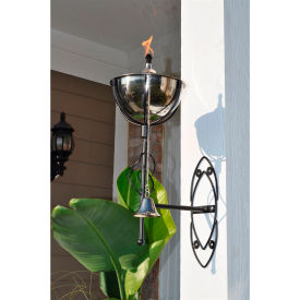 starlite maui grande outdoor sconce torch - smooth nickel - 2 pack Starlite Maui Grande Outdoor Sconce Torch - Smooth Nickel - 2 Pack