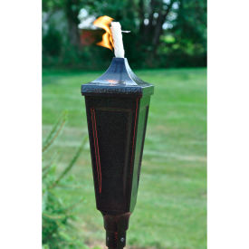 starlite classic pole outdoor torch - gold vien Starlite Classic Pole Outdoor Torch - Gold Vien