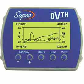 DVTH Supco Temperature/Humidity Logger with Display DVTH