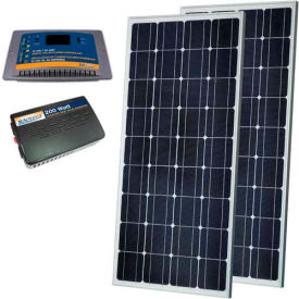 sunforce 38938 300 watt solar kit- 2-150w solar panels,30 amp controller, 300w inverter w/usb outlet Sunforce 38938 300 Watt Solar Kit- 2-150W Solar Panels,30 Amp controller, 300W Inverter w/USB outlet