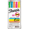 27075 Sharpie; Accent Highlighter, Narrow Chisel Tip, Nontoxic, Assorted Ink, 5/Set