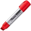 44002 Sharpie; Magnum Permanent Marker, Extra Large Chisel, Red Ink