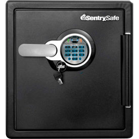 "sentrysafe fingerprint fire/water safe biometric lock, 16-3/10""w x 19-3/10""d x 17-4/5""h - black SentrySafe Fingerprint Fire/Water Safe Biometric Lock, 16-3/10""W x 19-3/10""D x 17-4/5""H - Black"