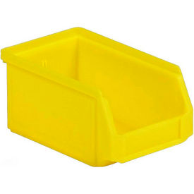 LF060503.0YL1 SSI Schaefer  LF060503.YL1 - 5 x 6 x 3 LF Hopper Front Plastic Stacking Bin, Yellow,