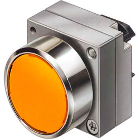 siemens 3sb3501-0da01 pushbutton, maintained, amber, flush cap, single operator, round metal Siemens 3SB3501-0DA01 Pushbutton, Maintained, Amber, Flush Cap, Single Operator, Round Metal