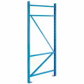 "BCF4L042096PB SK3000; Structural Channel Pallet Rack - 42""W X 96""H Upright"