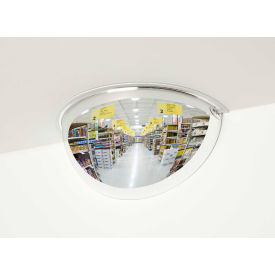 "PVS24-180 See All; 180-Degree Steel Half Dome Mirror - Indoor, 24"" Diameter - PVS24-180"