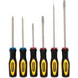 60-060 Stanley 60-060 6 Piece Standard Fluted Screwdriver Set