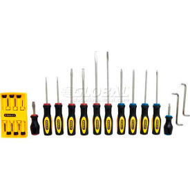 60-220 Stanley 60-220 20 PC. Standard Fluted Screwdriver Set
