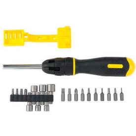 62-574 Stanley 62-574 21 Piece Multi-Bit Ratcheting Screwdriver Set