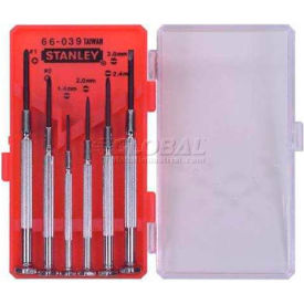 66-039 Stanley 66-039 6 Piece Jewelers Precision Screwdriver Set