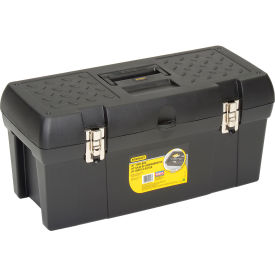 "STST24113 Stanley Black & Decker STST24113 Stanley Stst24113, 24"" Series 2000 Tool Box With 2/3 Tray"