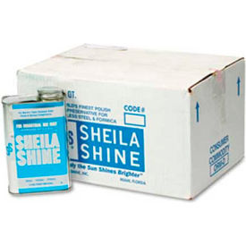 sheila shine stainless steel cleaner & polish, 32 oz. can, 12 cans - 2 Sheila Shine Stainless Steel Cleaner & Polish, 32 oz. Can, 12 Cans - 2