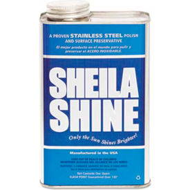 sheila shine stainless steel cleaner & polish, gallon bottle, 4 bottles - 4 Sheila Shine Stainless Steel Cleaner & Polish, Gallon Bottle, 4 Bottles - 4
