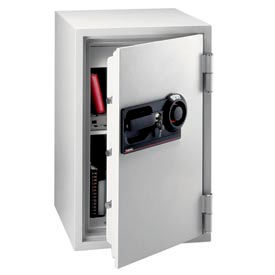 "sentrysafe commercial combination fire safe® s6370 - 20-1/2"" x 22"" x 34-1/2"" 3 cu. ft., lt gray SentrySafe Commercial Combination Fire Safe® S6370 - 20-1/2"" x 22"" x 34-1/2"" 3 Cu. Ft., Lt Gray"