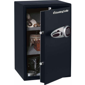 "T6331ENG SentrySafe Security Safe T6-331 - Electronic Lock, 15-7/16""W x 16-1/8""D x 23-15/16""H, Black"