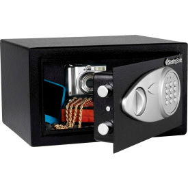 "sentrysafe security safe x041e - electronic lock, 11-7/16""w x 10-7/16""d x 7-5/8""h, black SentrySafe Security Safe X041E - Electronic Lock, 11-7/16""W x 10-7/16""D x 7-5/8""H, Black"