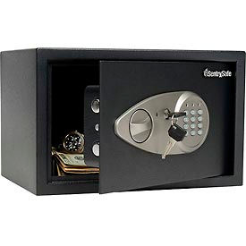 "X055BLK SentrySafe Security Safe X055 - 13-13/16""W x 10-5/8""D x 8-11/16""H, Black"
