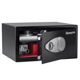 "sentrysafe security safe 16-7/8""w x 14-5/8""d x 8-7/8""h, black SentrySafe Security Safe 16-7/8""W x 14-5/8""D x 8-7/8""H, Black"
