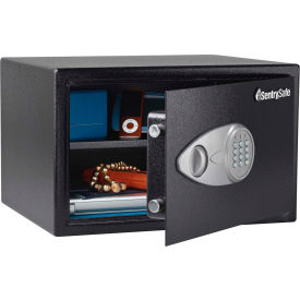 "X125 SentrySafe Security Safe X125 - 16-7/8""W x 14-5/8""D x 10-5/8""H, Black"