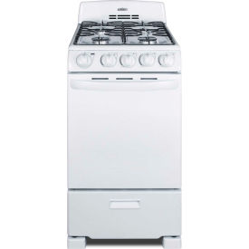 "summit-range, gas, 4 burners, 2.3 cu. ft., spark start, white, 23.5"" x 19.5"" x 42"" Summit-Range, Gas, 4 Burners, 2.3 Cu. Ft., Spark Start, White, 23.5"" x 19.5"" x 42"""