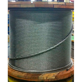 "001900-00073 Southern Wire; 1000 1/8"" Diameter 7x7 Type 304 Stainless Steel Cable"