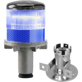 3337-00004 Tapco; 3337-00004 Solar Powered LED Strobe Lights, Blue Bulb