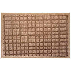 280510046 Waterhog Fashion Mat - Med Brown 4 x 6