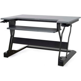 33-397-085 Ergotron WorkFit-T, Sit-Stand Desktop Workstation, Black