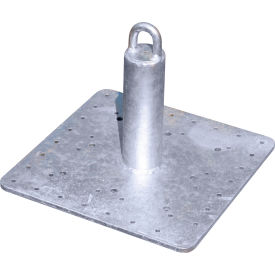 "tie down engineering 12"" commercial roof anchor, galvanized steel, 310 lbs. capacity Tie Down Engineering 12"" Commercial Roof Anchor, Galvanized Steel, 310 lbs. Capacity"