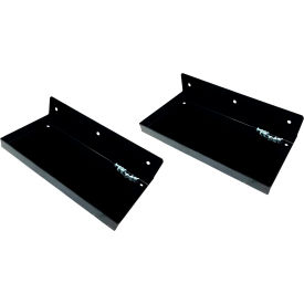 "durahook® 12""w x 6""d steel shelf for duraboard or 1/8"" & 1/4"" pegboard, black - 2 pk DuraHook® 12""W x 6""D Steel Shelf for Duraboard or 1/8"" & 1/4"" Pegboard, Black - 2 PK"