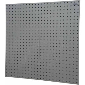 "locboard® 18""w x 9/16""d x 36""h, 18 ga steel sq. hole pegbrds w/30 pc lochook® & bin assort LocBoard® 18""W x 9/16""D x 36""H, 18 GA Steel Sq. Hole Pegbrds W/30 pc LocHook® & Bin Assort"