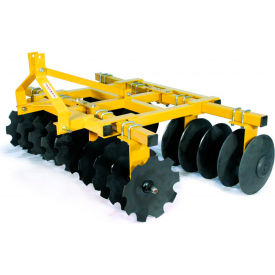 "tarter farm & ranch 3-point 7 heavy-duty tillage disc 18"" blades hdd7 - yellow Tarter Farm & Ranch 3-Point 7 Heavy-Duty Tillage Disc 18"" Blades HDD7 - Yellow"