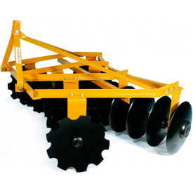 "tarter farm & ranch 3-point 6 medium-duty tillage disc 18"" blades mdd6 - yellow Tarter Farm & Ranch 3-Point 6 Medium-Duty Tillage Disc 18"" Blades MDD6 - Yellow"