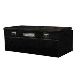 "60"" aluminum full size wide flush mount truck box - black 79460wb 60"" Aluminum Full Size Wide Flush Mount Truck Box - Black 79460WB"