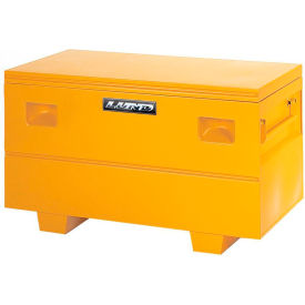 "lund 08036y heavy-duty small 32"" yellow steel job site box Lund 08036Y Heavy-Duty Small 32"" Yellow Steel Job Site Box"
