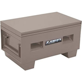 "lund 08048g heavy-duty medium 48"" gray steel job site box Lund 08048G Heavy-Duty Medium 48"" Gray Steel Job Site Box"