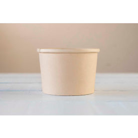 total papers eco-friendly soup container, 8 oz., biodegradable, bamboo fiber, 500 pcs. Total Papers Eco-Friendly Soup Container, 8 oz., Biodegradable, Bamboo Fiber, 500 pcs.