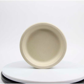 "total papers eco-friendly round plates, 7"", wheat stalk fiber, 1000 pcs. Total Papers Eco-Friendly Round Plates, 7"", Wheat Stalk Fiber, 1000 pcs."