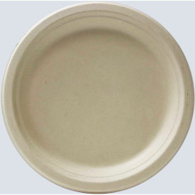 "total papers eco-friendly round plates, 9"", wheat stalk fiber, 500 pcs. Total Papers Eco-Friendly Round Plates, 9"", Wheat Stalk Fiber, 500 pcs."